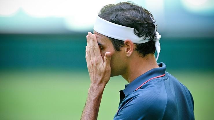 ATP w Halle: Roger Federer odpadł w 1/8 finału