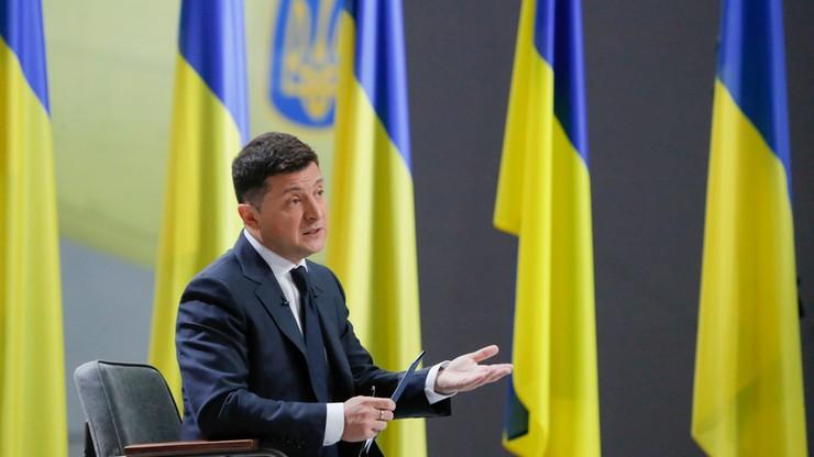 Prezydent Ukrainy: cofnięcie sankcji wobec NS2 będzie klęską dla USA i Bidena