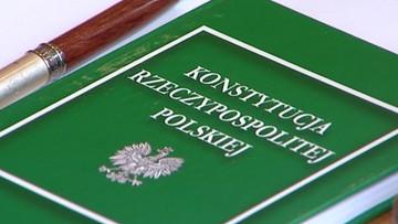 PO: konstytucję mogą zmieniać ci, którzy jej przestrzegają. PiS odpowiada