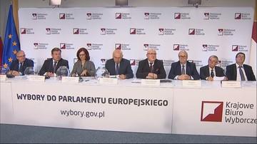 """Wylosowano numery list wyborczych do PE. """"Czwórkę"""" dla PiS wyciągnął Kierwiński z PO"""