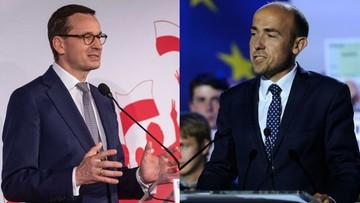 """Morawiecki """"pociągnął"""" listę PiS. Premier wyraźnie lepszy od Budki"""