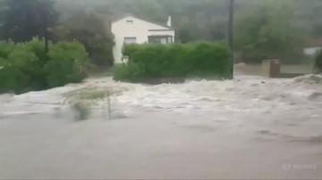 Francja: gwałtowne ulewy i powodzie u ujścia Rodanu. Ewakuowano 1600 osób