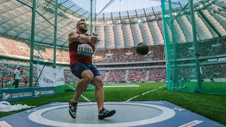 Kontuzja pokrzyżowała plany Fajdka o pobiciu rekordu świata