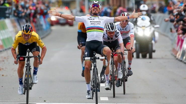 Liege-Bastogne-Liege: Mistrz olimpijski w szpitalu, mistrz świata jak gapa