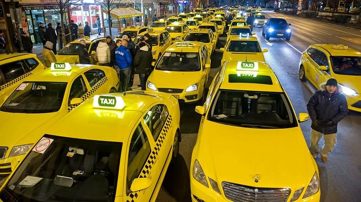 Protest taksówkarzy w Budapeszcie. Zablokowane centrum miasta
