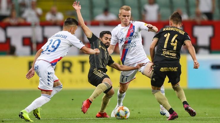 PKO Ekstraklasa: Raków czeka na ligowe zwycięstwo nad Legią