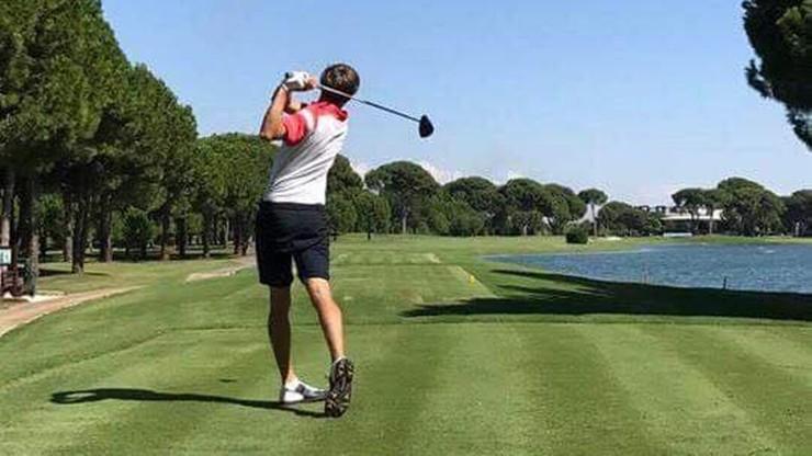 Gradecki mistrzem Turcji w golfie