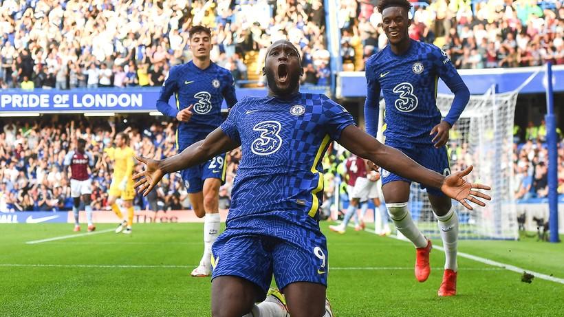 Premier League: Chelsea wiceliderem. Dwa gole Romelu Lukaku - Polsat Sport