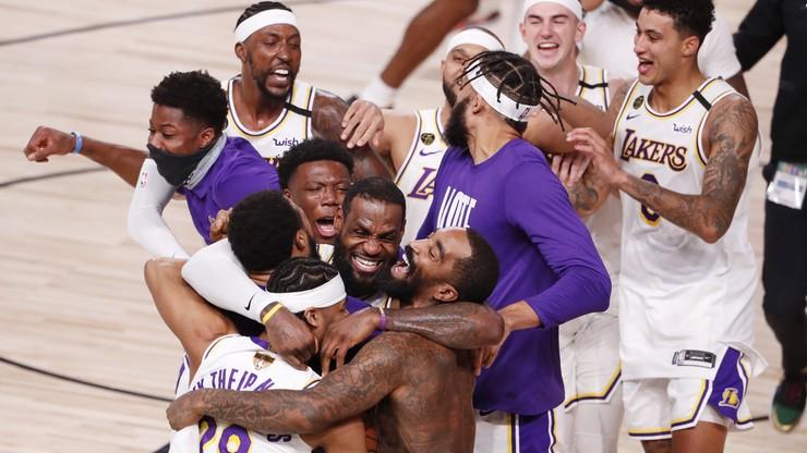 Los Angeles Lakers mistrzami NBA. Po raz 17!