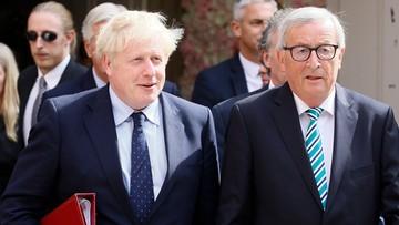 Rozmowy Juncker-Johnson ws. brexitu bez przełomu