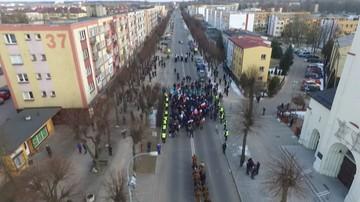 Marsz Pamięci Żołnierzy Wyklętych w Hajnówce. Policja zatrzymała Obywateli RP