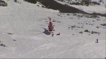 Lawina śnieżna w Dolinie Roztoki nikogo nie porwała. Akcja ratowników TOPR zakończona