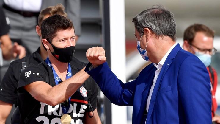 Liga Mistrzów: Lewandowski i koledzy przywitani jak bohaterowie