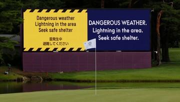 Tokio 2020: Adrian Meronk z nieudanym debiutem w golfie. Pogoda przerwała rywalizację