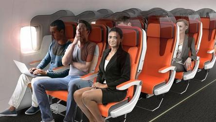 Czy tak będą wyglądały komfortowe samoloty przyszłości?