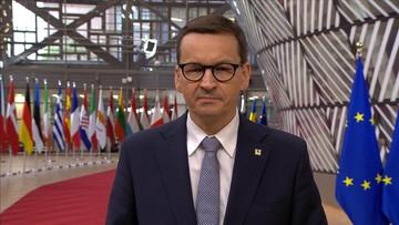 """Morawiecki: Grupa Wyszehradzka rekomenduje sankcje za """"de facto porwanie samolotu"""""""