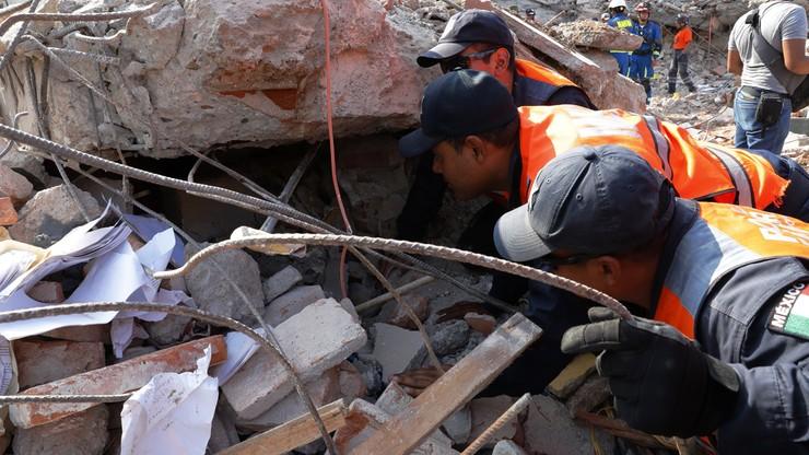 Do 90 wzrosła liczba ofiar śmiertelnych trzęsienia ziemi w Meksyku