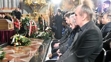 """Pogrzeb Romualda Lipki. """"Bez ciebie trudniej będzie żyć, marzyć, kochać i śnić"""""""