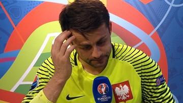 """Łzy Fabiańskiego. """"Nie pomogłem drużynie"""""""