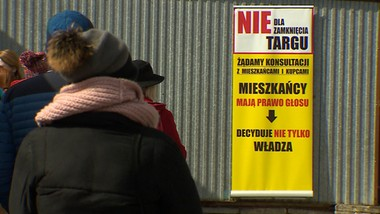 Kupcy kontra burmistrz. Spór o targowisko w Milanówku