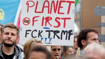 """""""Idźcie do diabła"""". Tysiące antyglobalistów protestowało przeciwko szczytowi G20"""