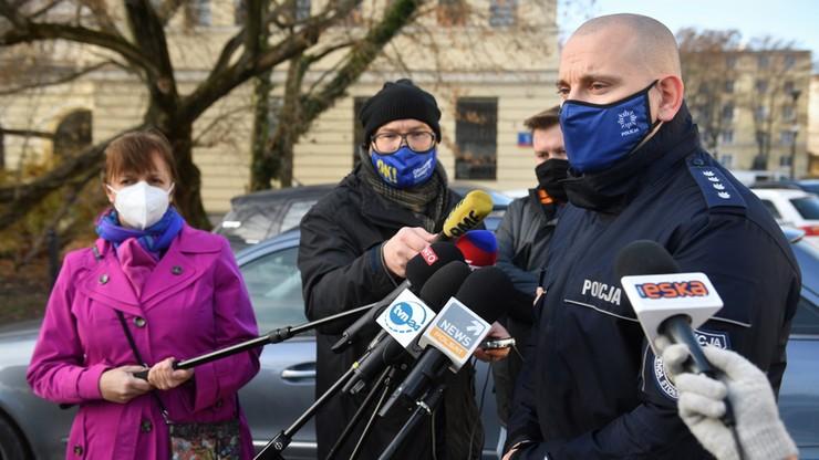 Policja: to Czarzasty zaatakował policjanta. Jest nagranie sprzed Sejmu