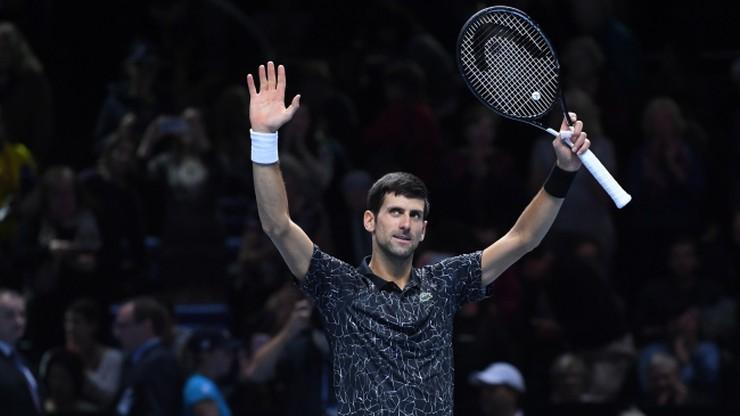 ATP Finals: Djokovic wciąż bez straty seta w Londynie