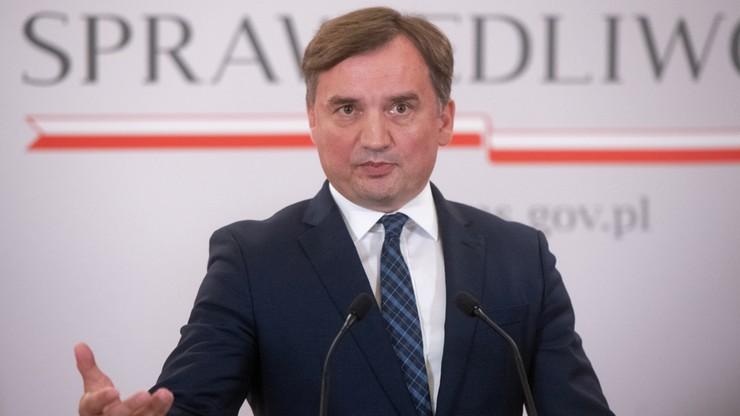 Wyrok TSUE. Zbigniew Ziobro: pierwsza prezes Sądu Najwyższego nie mogła podjąć innej decyzji