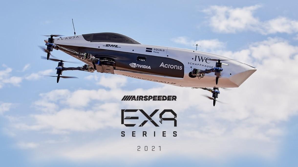 Zobacz w akcji Airspeedera, załogowy bolid wyścigowy. To nowy rodzaj sportów ekstremalnych