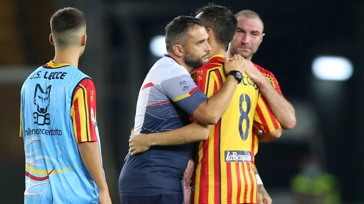 Kolega klubowy Polaków wrócił do gry po operacji guza mimozakazu lekarzy. Chce pomóc w awansie do Serie A