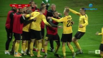 Górnik Polkowice - GKS Katowice 1:1. Wszystkie bramki