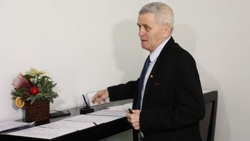 Karczewski: senator Kogut w piątek sam zgłosi się do prokuratury