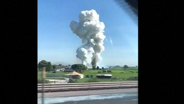 Wybuch w zakładzie produkującym fajerwerki w Meksyku. Kilkanaście ofiar