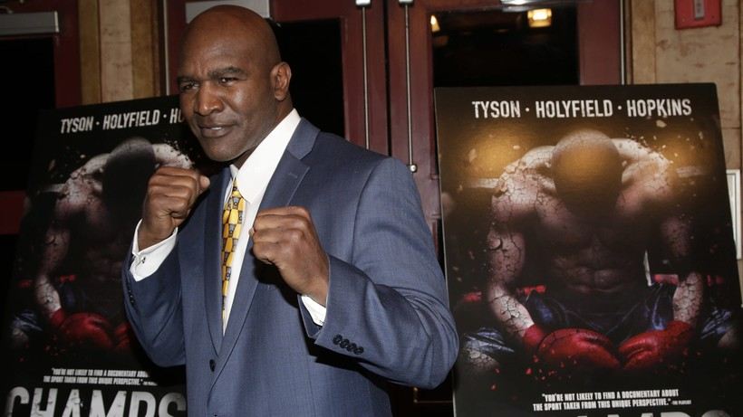 Prawie 59-letni Evander Holyfield znów wyjdzie na ring!