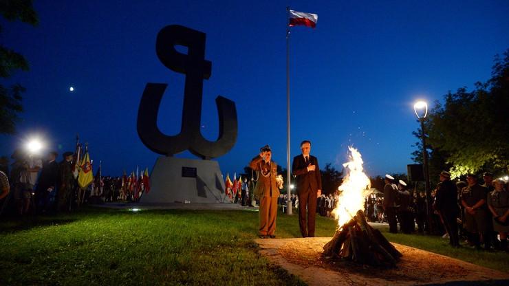 Ognisko Pamięci na Kopcu Powstania Warszawskiego. Będzie płonęło przez 63 dni