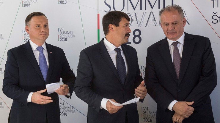 """""""Musimy zachować naszą jedność w UE"""". Prezydenci podsumowali szczyt Grupy Wyszehradzkiej"""