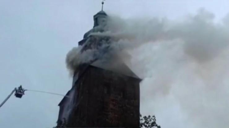 Gorzów Wielkopolski. Pożar katedry w centrum miasta. Proboszcz usłyszał wyrok