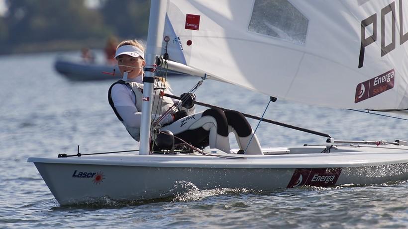 ME w klasie Laser: Agata Barwińska wywalczyła złoto w Warnie
