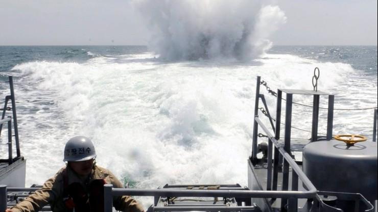 Incydent na Morzu Żółtym. Strzały ostrzegawcze w kierunku okrętu Korei Północnej