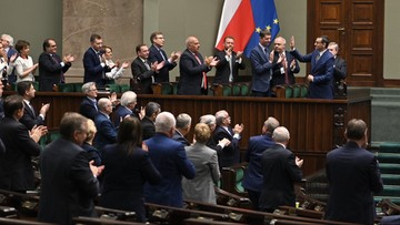 Rząd Morawieckiego z wotum zaufania. Sejm poparł wniosek premiera