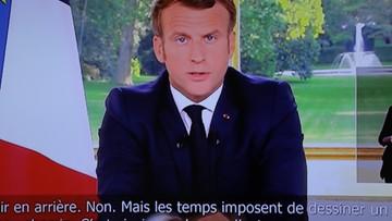 """Prezydent Francji ogłosił: """"zwycięstwo nad koronawirusem"""""""