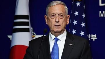 """""""Będzie narażona na zmasowaną reakcję militarną"""". Szef Pentagonu ostrzega Koreę Północną"""