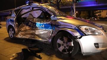 Wypadek policyjnego radiowozu prowadzącego kolumnę BOR. W kolumnie jechał sekretarz generalny NATO