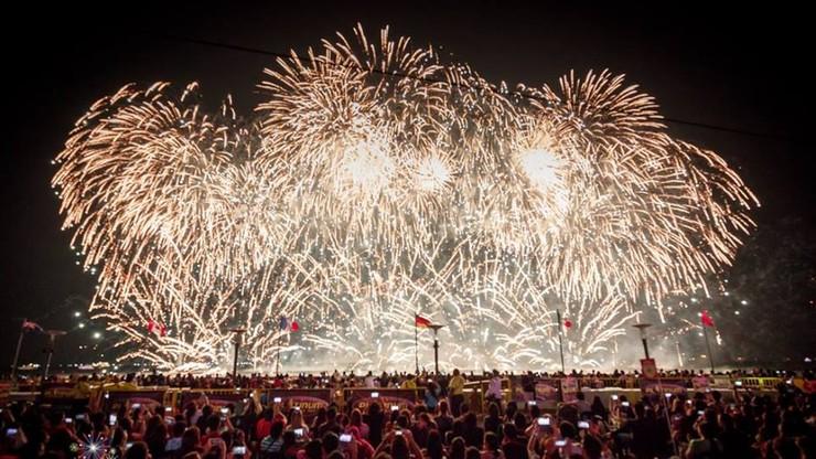 Trwają międzynarodowe zawody w pokazach fajerwerków
