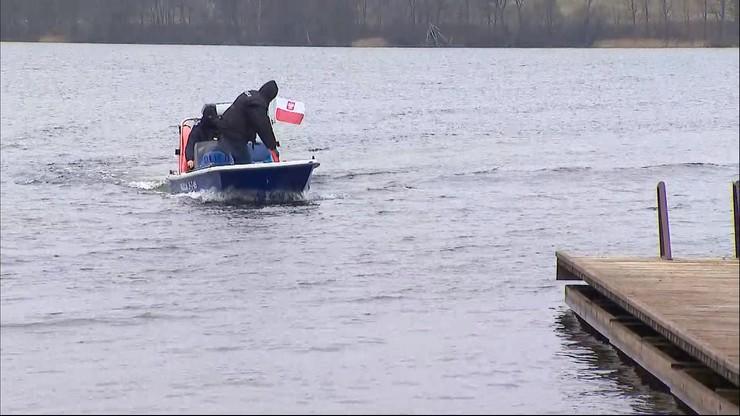 Odnaleziono ciało 32-letniego wędkarza. W niedzielę wypadł z łodzi