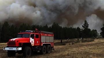 Ognisty sztorm w Rosji. Zginęła jedna osoba, dziesiątki poszkodowanych