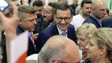 Morawiecki: ratingi świadczą, że mieliśmy rację
