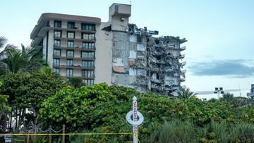 """USA: zawalił się 12-piętrowy budynek. """"Słychać ludzi pod gruzami"""""""
