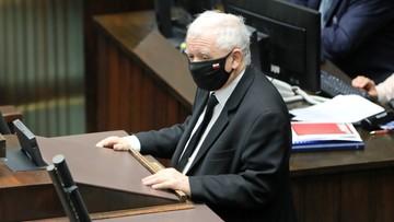 Kaczyński odpowiada Sienkiewiczowi: nie było propozycji rządowych dla grupy, która odeszła