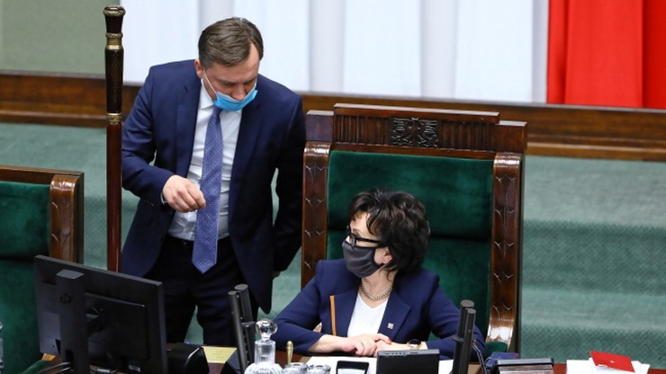 """Ziobro niedopuszczony do głosu w Sejmie. """"Nie obrażam się"""""""